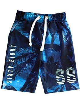 Urban 65 Outlaws Azul Ocean Theme Pantalones Short Cortos para Niños 7-14 Años