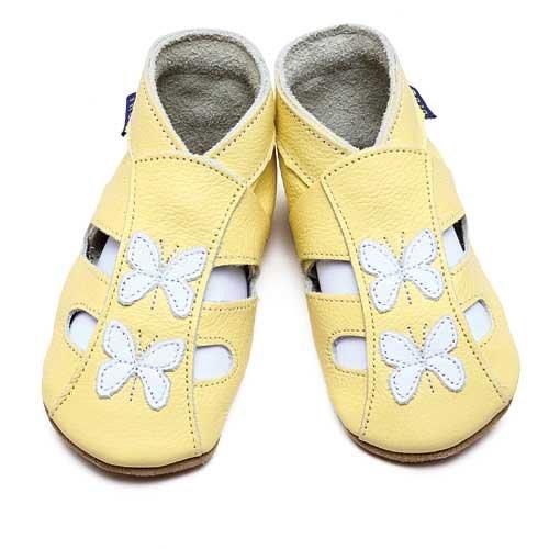 Inch Blue, Mädchen Babyschuhe - Krabbelschuhe & Puschen  Gelb 22-23 cm
