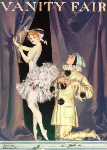 Posterlounge Holzbild 120 x 170 cm: Vanity Fair von Francis Xavier Leyendecker