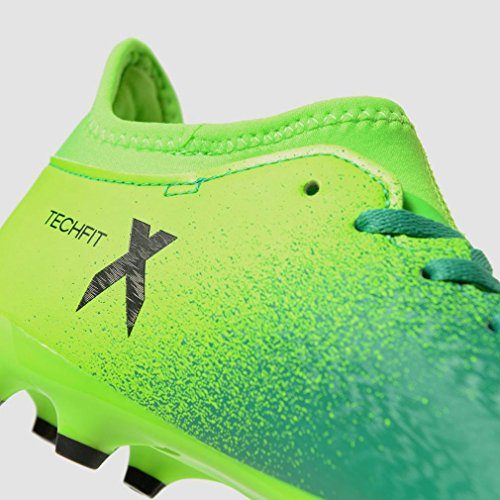 adidas Jungen X 16.3 Fg J Fußballschuhe Grün