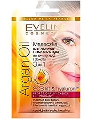 EVELINE Cosmetics Argan Oil Set of 3 Intensively Rejuvenating Face Masks 3 x 7ml Mature Skin