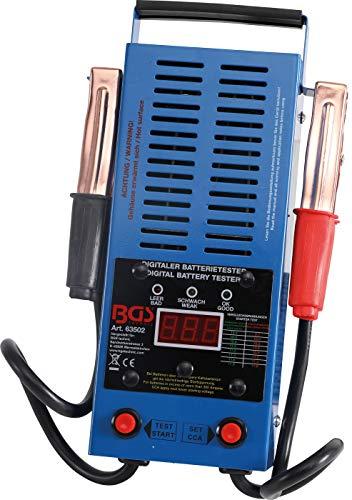 BGS 63502 | Digitaler Batterie-Tester | Batterie-Prüfer