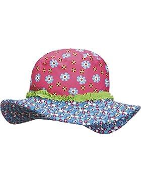 Playshoes Sonnenhut, Bademütze Blumen Mit UV-Schutz - Sombrero Niñas