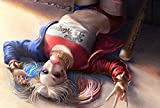 #8: Posterhouzz Suicide Squad Harley Quinn Movie Wall Poster