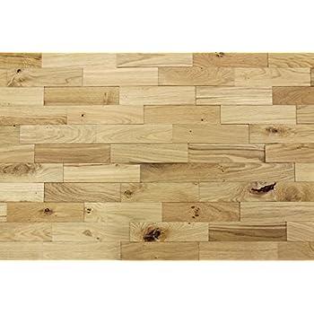 Wood Wall Cladding Walnut | 1m² Decorative 3D Wall Panels | Solid ...