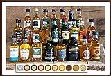24 Whisky Miniaturen aus Schottland Irland USA Kanada Indien 24 Edel Schokoladen aus der Confiserie DreiMeister & DaJa kostenloser Versand