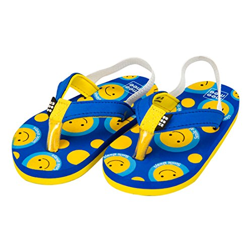 Mee Mee Unisex Blue And Yellow Flip-Flops And House Slippers - 7 Kids Uk/India (22 Eu)