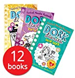 Dork Diaries By Rachel Renee Russell 12 Books Collection Set (Puppy Love, Holiday Heartbreak, TV Star, Pop Star, OMG, Skating Sensation, Party Time. Dear Dork, Once Upon a Dork, Dork Diaries)