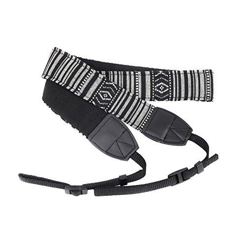 Andoer® Cinghia Camera spalla della fotografica Tracolla cintura vendemmia fionda per Nikon Canon Sony Panasonic SLR DSLR ILDC