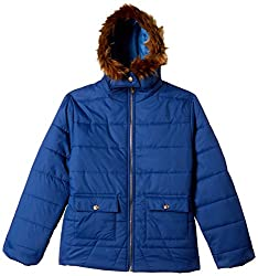 Qube By Fort Collins Girls Jacket (18104 fa_Air Force_28(8 - 9 years))
