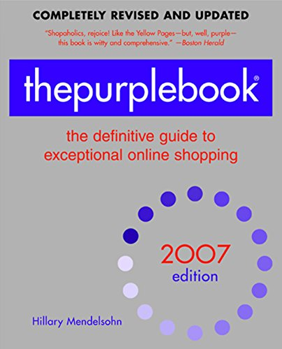 thepurplebookr-2007-edition-the-definitive-guide-to-exceptional-online-shopping-purple-book-the-defi