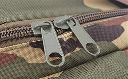 TigerFighting 50L tattico Molle zaino militare Zaino Trekking Borsa zaino di campeggio esterna Black