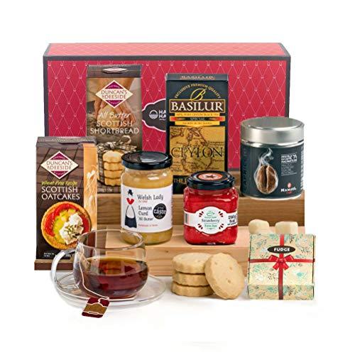 Hay Hampers klassische Tee Time Verwöhn - Geschenkbox zum Muttertag