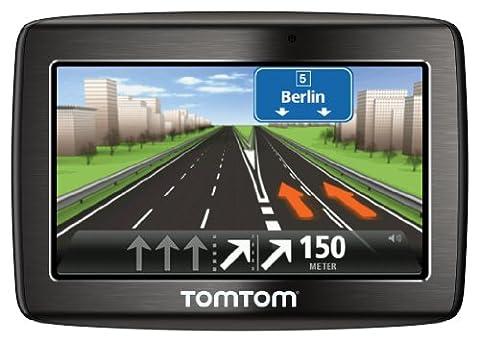 TomTom Via 120 Europe Traffic v2 Navigationssystem (11 cm (4,3 Zoll) Touchscreen, Bluetooth, IQ Routes, Parkassistent, Kartenslot, TMC, Europa 45)