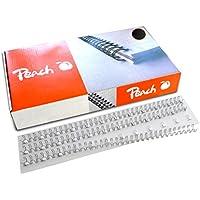 Peach Wire Binding Combs, 6mm black, 3:1'', 34 loops A4, 100 pcs. PW064-03 - Confronta prezzi