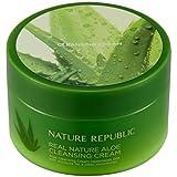 Nature Republic Real Nature Aloe Cleansing Cream 200ml Best Korean Cosmetics