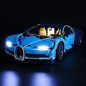 BRIKSMAX Kit di Illuminazione a LED per Lego Technic Bugatti Chiron,Compatibile con Il Modello Lego 42083 Mattoncini da… 0716852282562 LEGO