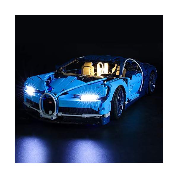 BRIKSMAX Kit di Illuminazione a LED per Lego Technic Bugatti Chiron,Compatibile con Il Modello Lego 42083 Mattoncini da… 1 spesavip