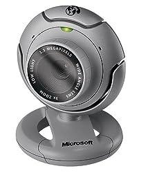 Microsoft LifeCam VX-6000 Webcam Gray