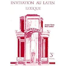 LATIN 3EME INVITATION AU LATIN. Lexique