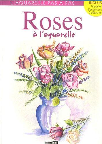 Roses à l'aquarelle