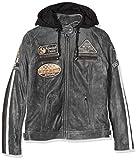 Urban Leather 58 Veste de Moto avec Protections - Femme - Breaker - XL/44