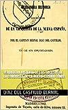 Verdadera historia de los sucesos de la conquista de la Nueva-España TOMO1