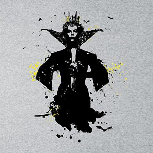 Spirit Ravenna Paint Splatter The Huntsmen Women's Vest Heather Grey