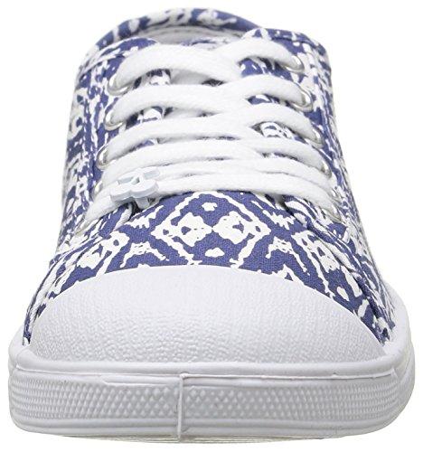 Le Temps Des Cerises Ltc Basic 02 - Sneaker Donna Blu (bleu (ikat))