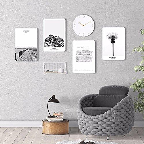 Foto de WUXK Portafolio creativo europeo picture decoración mural salón sofá marco de fotos de fondo de carácter moderno y minimalista de pared Wall-E