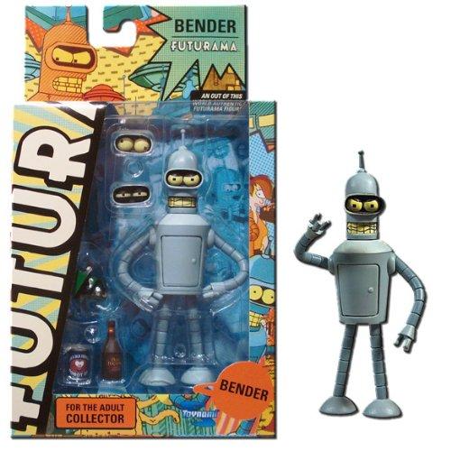 Futurama Série 3 complète, Figurines & gadgets