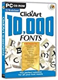 ClickArt 10,000 Fonts