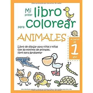 Descargar Mi Primer Libro Para Colorear Animales A Partir De 1