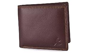 Hornbull Men's Stella Genuine Leather RFID Blocking Wallet