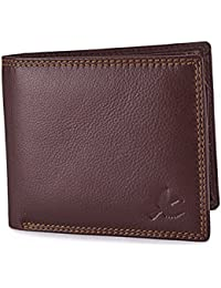 Hornbull Men's Stella Genuine Leather RFID Blocking Wallet