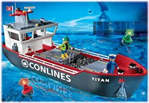 Playmobil® 4472 Large Container Cargo Ship: Amazon.co.uk: Toys & Games