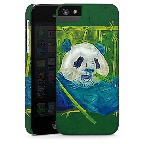 Apple iPhone X Silikon Hülle Case Schutzhülle Granda Panda Pandabär Bär Premium Case StandUp