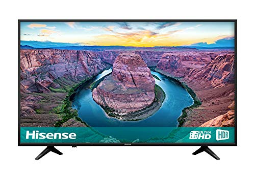 Hisense H65AE6100UK 65-Inch 4K Ultra HD HDR Smart TV with Freeview Play - Black (2018 Model)