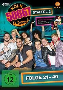 Köln 50667 - Staffel 2 (Folge 21-40) [Limited Edition] [4 DVDs]