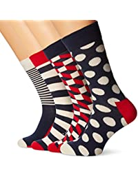 Happy Socks Herren Socken Big Dot Gift Box