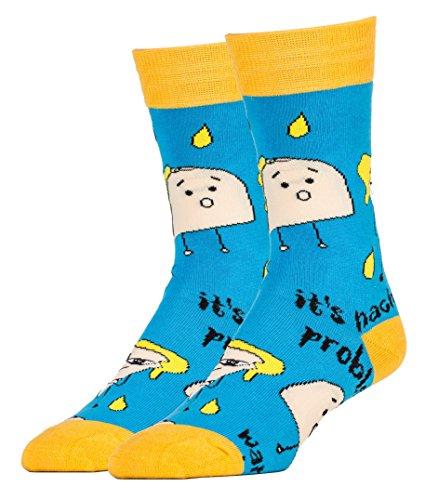 Oooh Yeah Socks Herren Socken Gr. Einheitsgröße, Taco Bout (Taco Anzug)