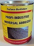 Farben-Budimex Profi-Industrie Universalabbeizer, hochwirksamer Spezial Abbeizer 750 g/für Stein, Holz u. Metall/tropft nicht