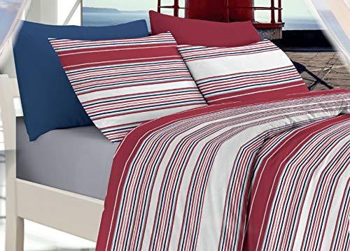 BIANCHERIAWEB Sonni CALDI und PROFONDI MIT COLOMBI Quilt Steppdecke Bedruckt Linie Style Design Linda V.95 Piazza E Mezza V.95