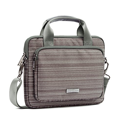 evecase-116-to-125-laptop-classic-suit-fabric-shoulder-bag-carry-case-briefcase-for-acer-apple-asus-