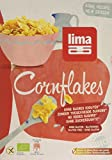 Lima Organic Cornflakes 375 g (Pack of 4)