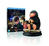 Fantastic Beasts and Where To Find Them with Limited Edition Niffler Statue [Includes Digital Download] [Blu-ray 3D] [2016]