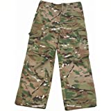 Highlander Boys Camouflage Polycotton Combat Cargo Trousers