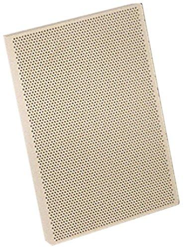 Keramikplatte mit Dichtstreifen Länge 132mm Breite 92mm Höhe 12mm passend für Cookmax