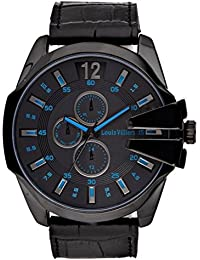 Reloj hombre Louis Villiers acero negro 50 mm lvag8912 – 10