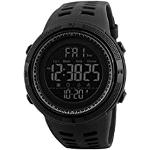 Hombre Deportivo Reloj Al Aire Libre 50M Impermeable Big Face Digital Blacklight Pantalla Multifuncional Moda Deporte Deporte LED Relojes